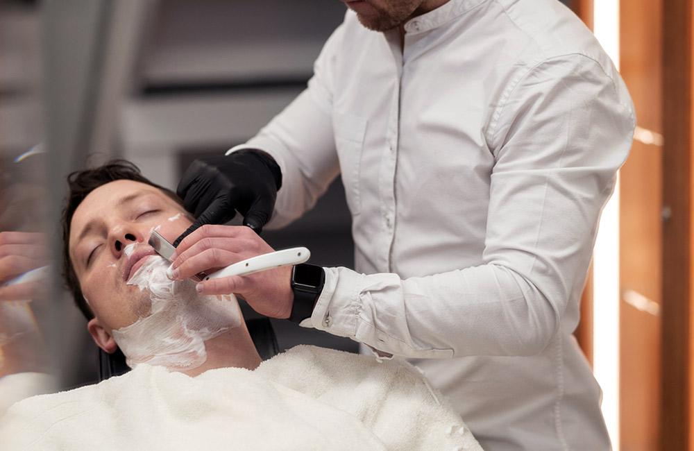 traditional cut throat barber London