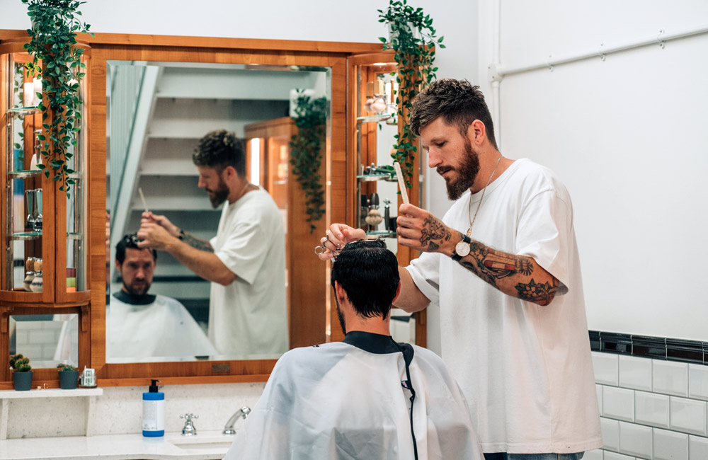 traditional barbers London