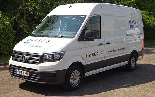 MWB - 3.5T Panel Van