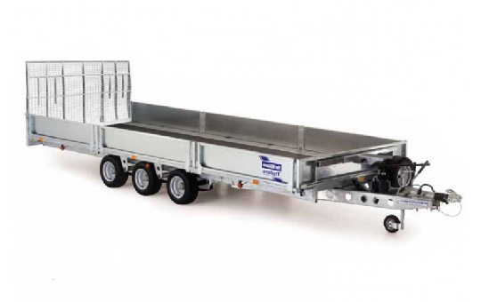 Hydraulic 16ft Tilt Bed Trailer 3 Tonne