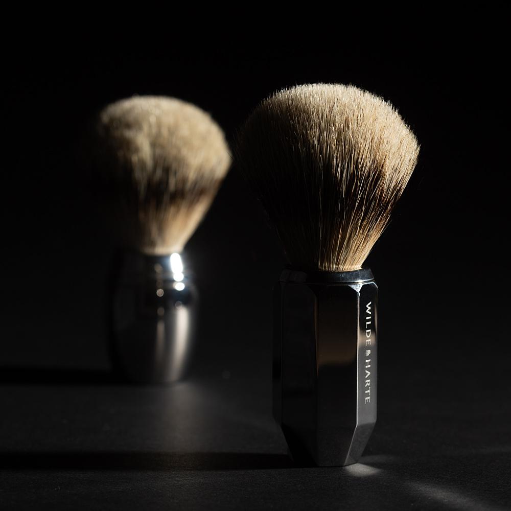 silvertip badger hair shaving brush