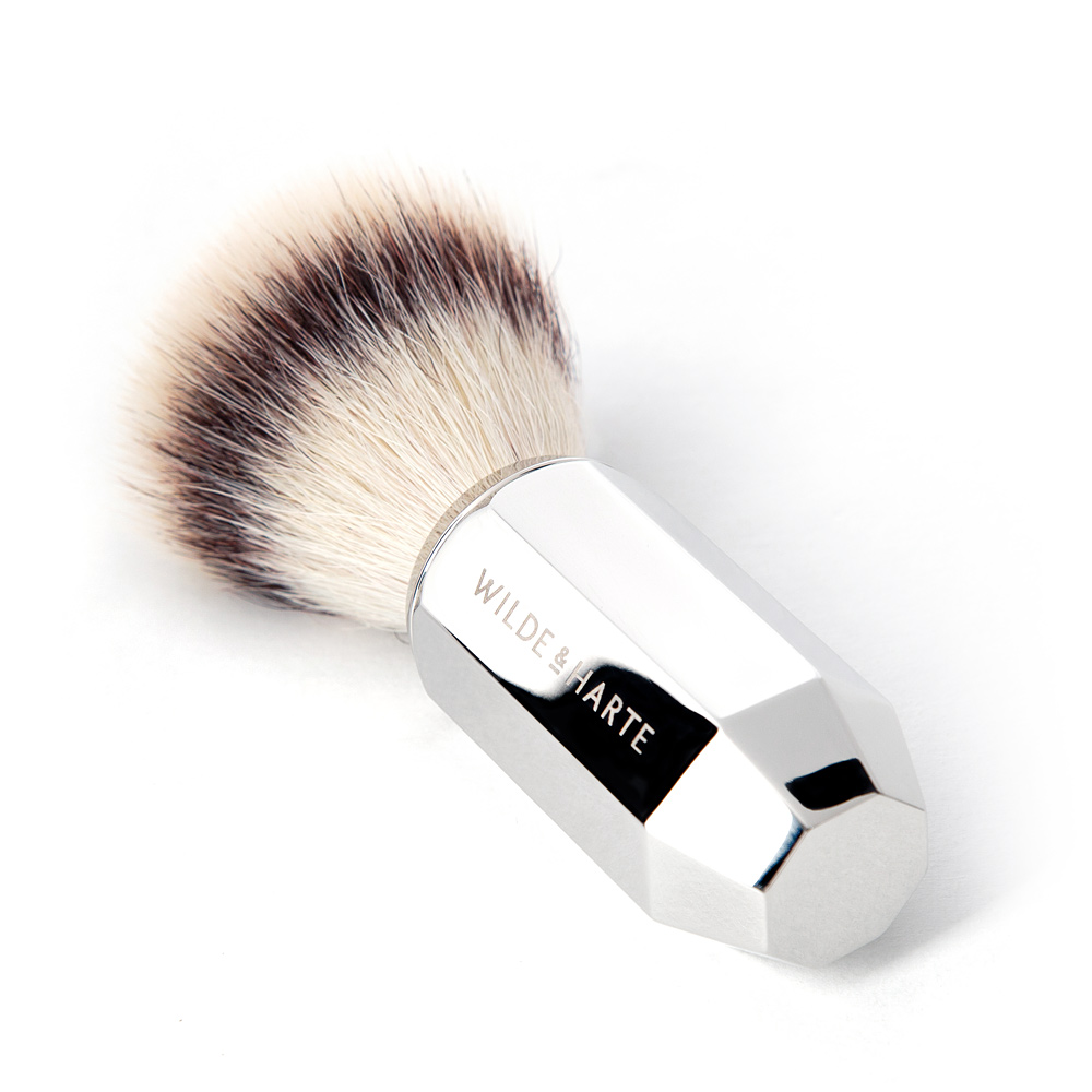 synthetic fibre shaving brush