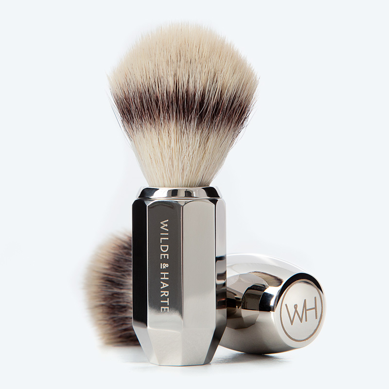 synthetic fibre shaving brushes
