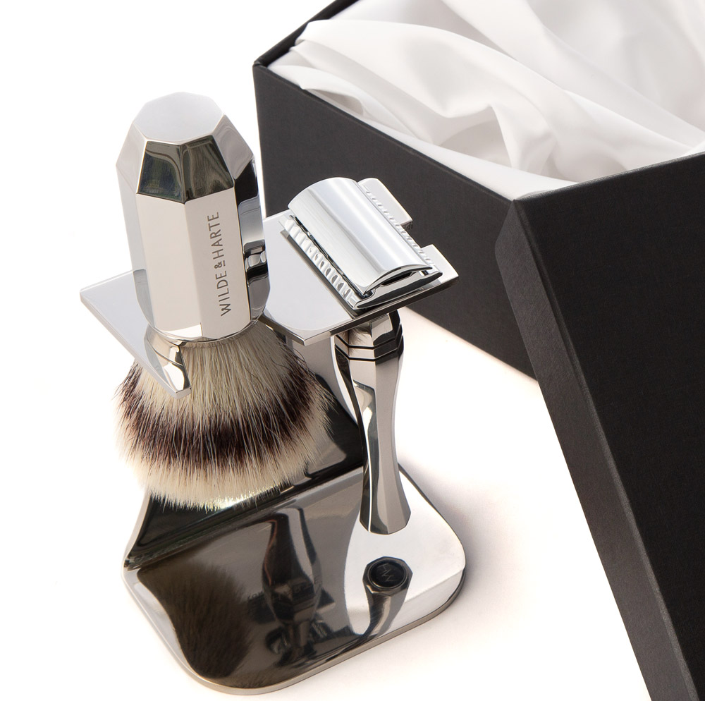 traditional razor shaving set