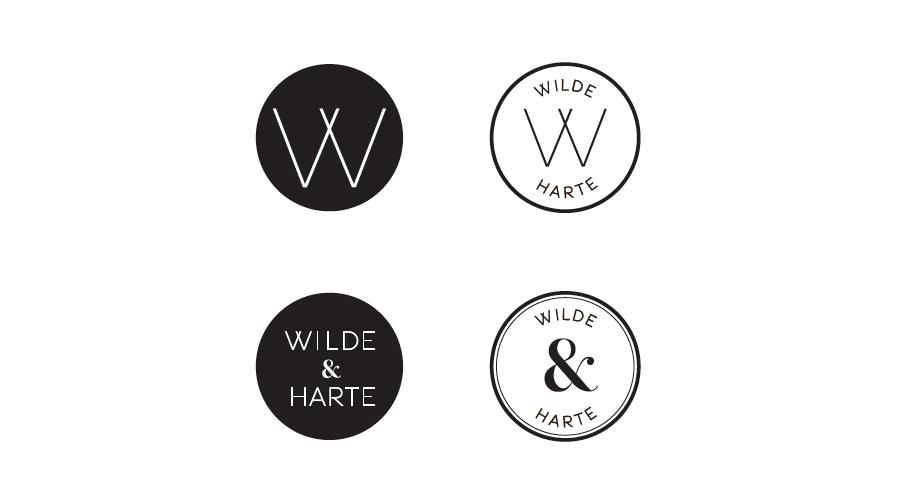 Wilde & Harte branding