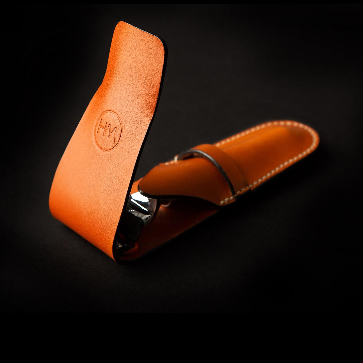 leather razor pouches