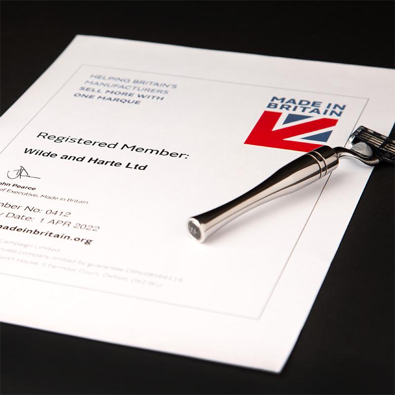 Made in Britain registered member