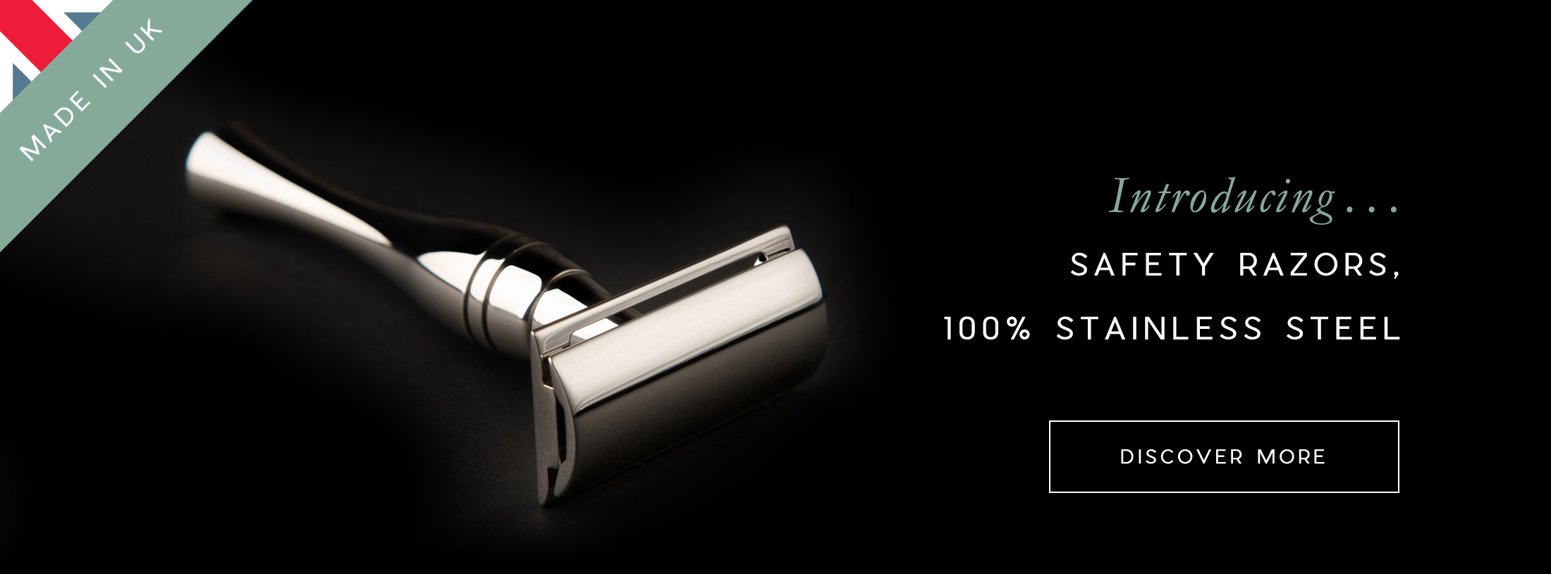 made in UK stainless steel safety razors