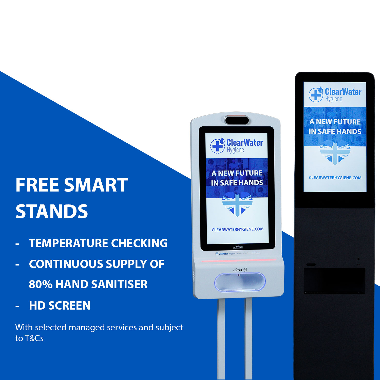 Business Hand Sanitiser dispenser stands
