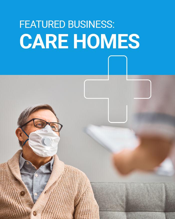 Care Home hand sanitiser dispensers UK