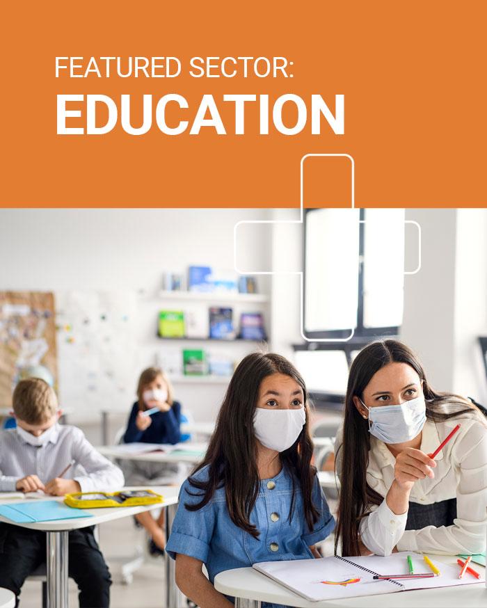 Education hand sanitiser dispensers