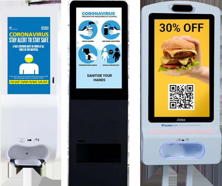 hand sanitiser dispenser sensor stands for schools