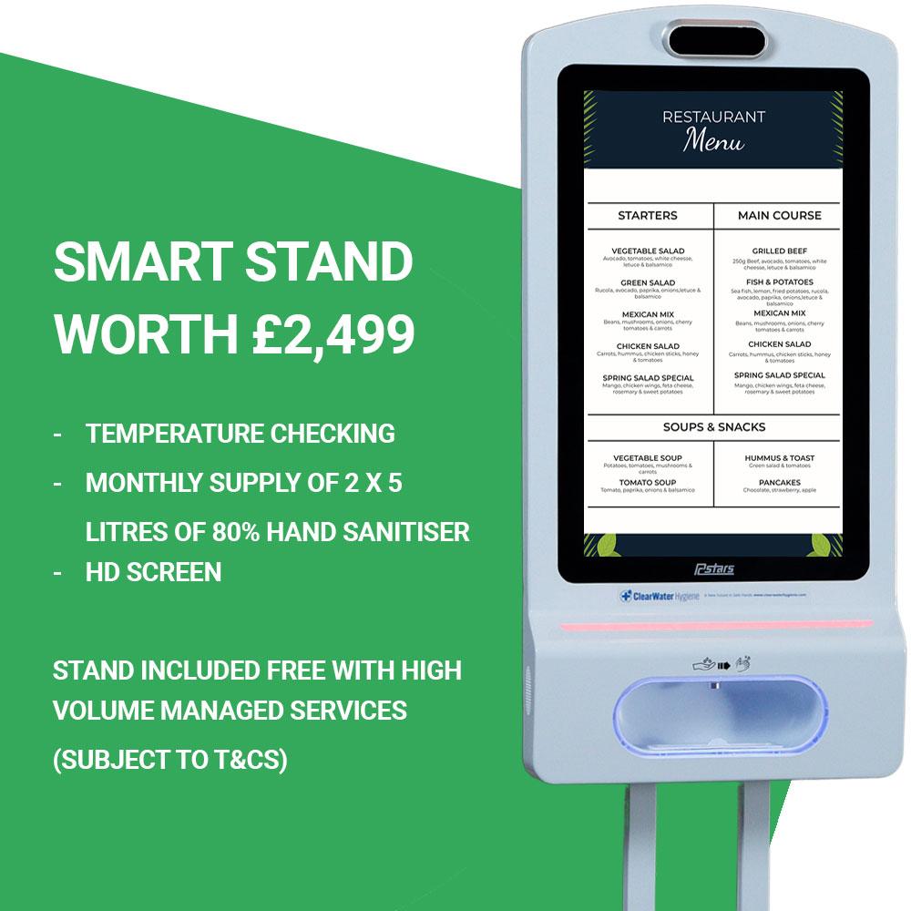 Pub Smart Hand Sanitiser dispenser stand