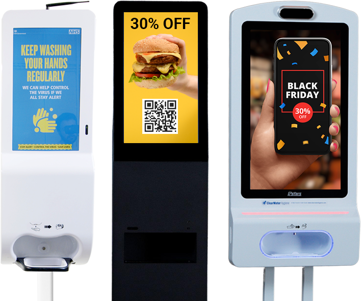 Restaurant Smart Hand Sanitiser dispenser stand